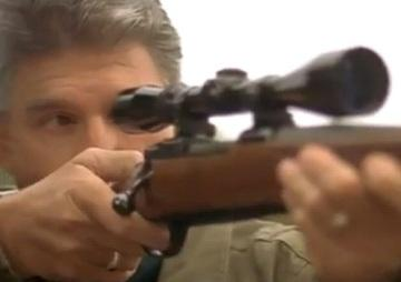 Joe Manchin takes aim in a new ad.