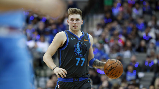 Luka Doncic looks like he could be a special player for the Mavericks. (AP Photo)