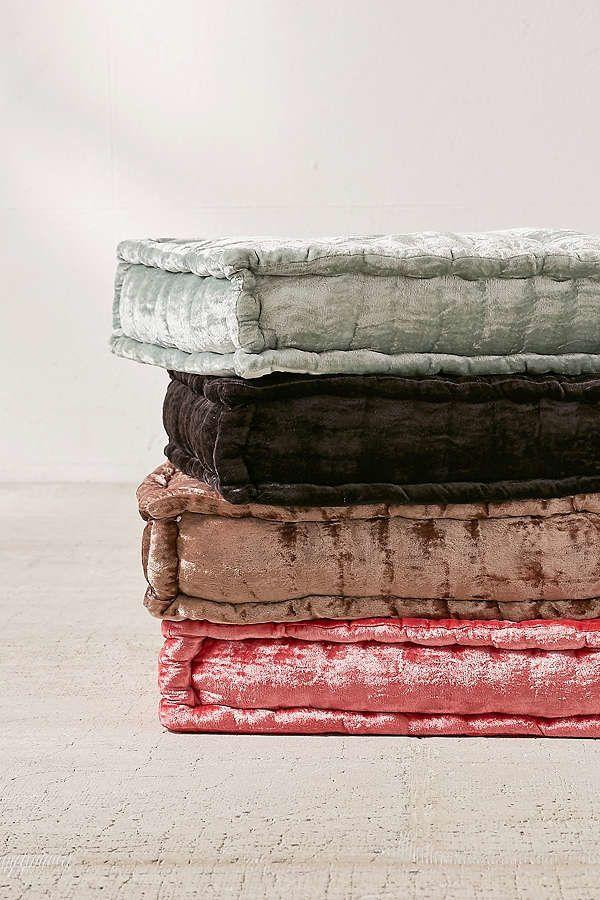 "<a href=""https://www.urbanoutfitters.com/shop/ruthie-velvet-floor-pillow?category=SEARCHRESULTS&color=102"" target=""_blank"">Shop them here</a>."
