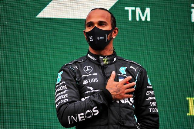 Lewis Hamilton is a seven-time Formula One world champion (PA)