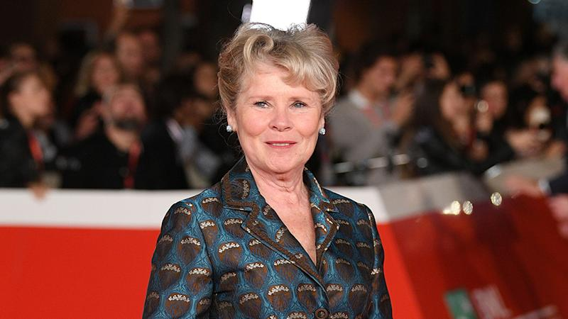 Imelda Staunton on red carpet