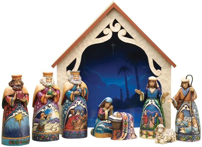 A nativity set that can be passed down through generations. (Photo: Amazon)