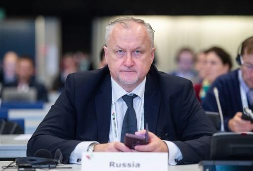 Yuri Ganus, the director general of the Russian antidoping agency, told the World Anti-Doping Agencey conference in Poland that he believes doping data was manipulated