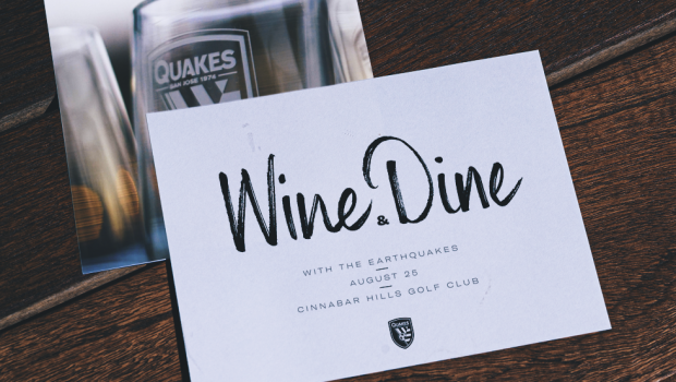 NEWS: Earthquakes to Host Eighth Annual Wine and Dine Event August 25