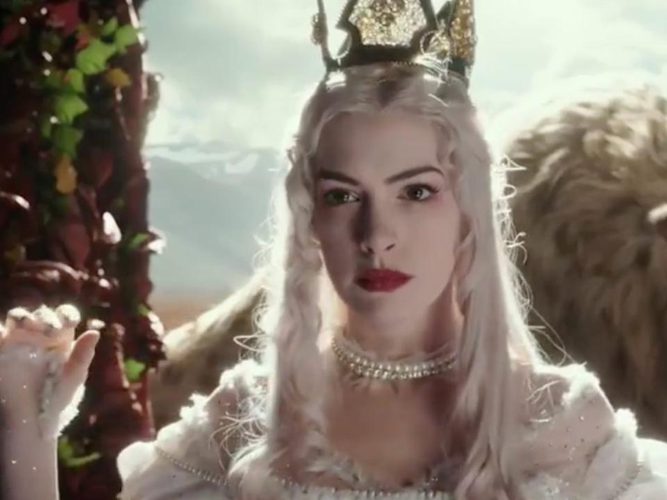 """Anne Hathaway in """"Alice Through the Looking Glass."""" <p class=""""copyright"""">Disney</p>"""