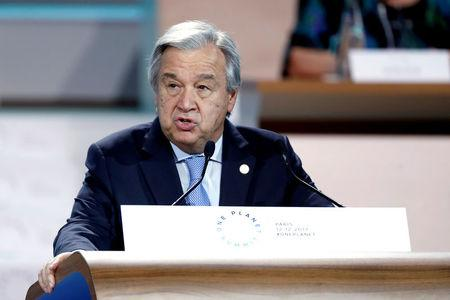 Don't sleepwalk into war over N. Korea: UN chief Guterres