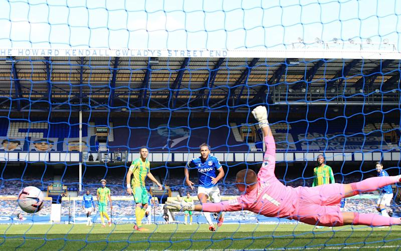 James Rodriguez's fine finish put Everton back in front - PA