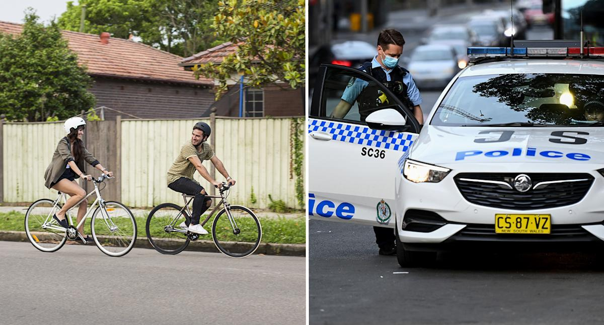 Cyclists face $116 fine from NSW Police for breaking this road rule