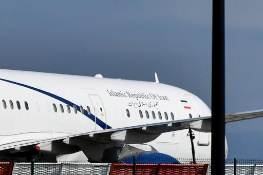 The appearance of an Iranian plane in Biarritz was a big surprise