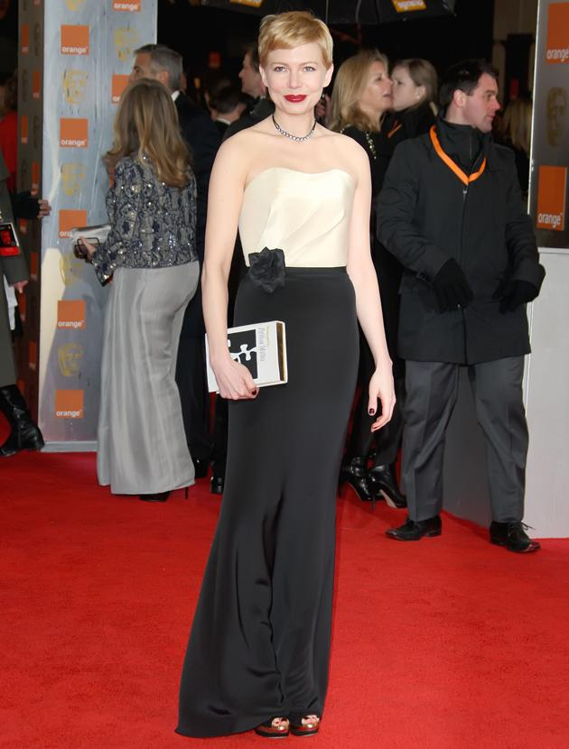 BAFTAs 2012: Michelle Williams