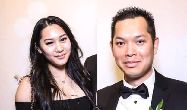 Police say they believe Quoc Tran, 37, and Kristy Nguyen, 25, were 'victims of foul play in a targeted attack,' and were killed at a commercial building in Vaughan. (York Regional Police handouts - image credit)