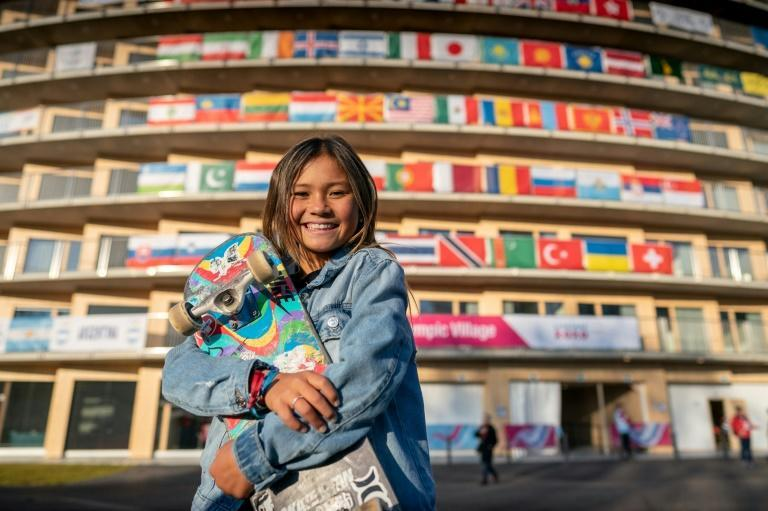 At 13, skateboarder Sky Brown is an exciting talent in a sport making its Olympic debut