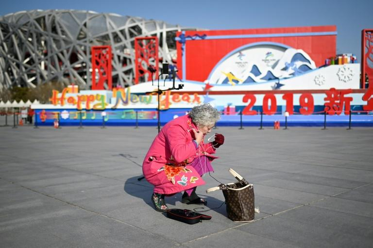 A legion of senior citizens trying to make a name for themselves in China's massive social media scene, a world usually populated by the young