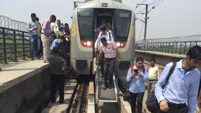 The Yellow Line of Delhi Metro collapsed on Tuesday morning after a technical glitch. Thousands of commuters were left stranded inside the metro and on roads.