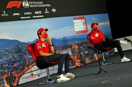 Ferrari drivers Charles Leclerc and Sebastian Vettel said on Thursday they had put their embarrassing crash behind them