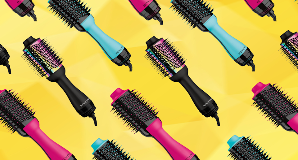 This hair dryer brush is the best hair tool I've ever used — and it's currently on sale (Photos via Amazon)