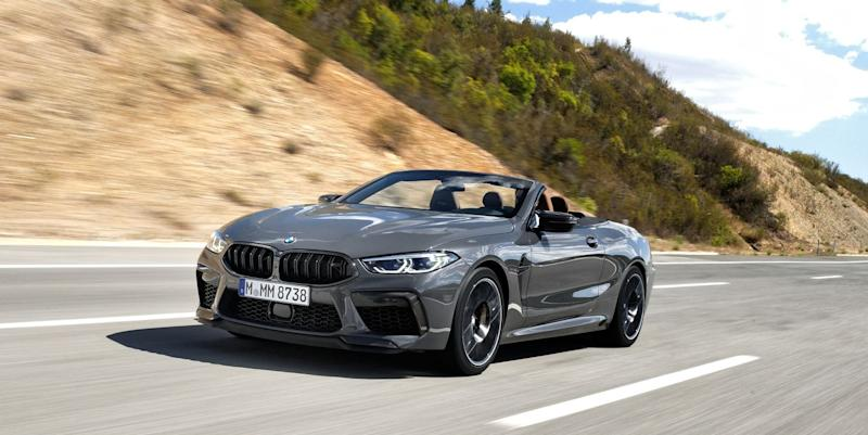 2021 BMW M8 Coupe and Convertible Phased Out in U.S. by COVID-19
