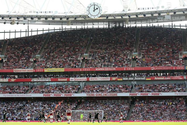 Arsenal 4 West Ham 1: Late show downs Hammers as Arsene Wenger's farewell begins