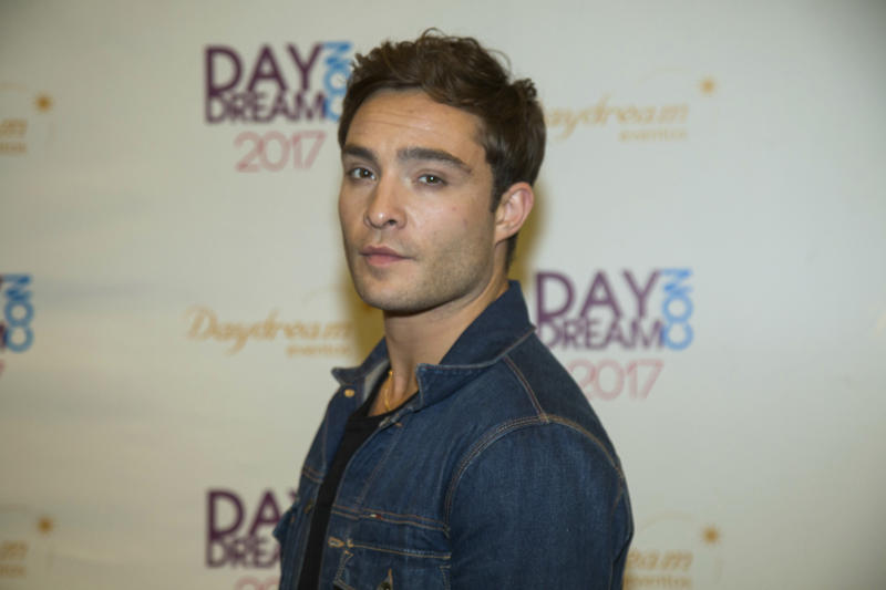 Ed Westwick pictured in 2017.  (Brazil Photo Press/CON via Getty Images)