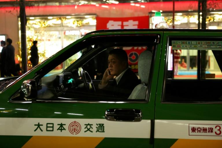Not many taxis in Tokyo ae connected via smartphone