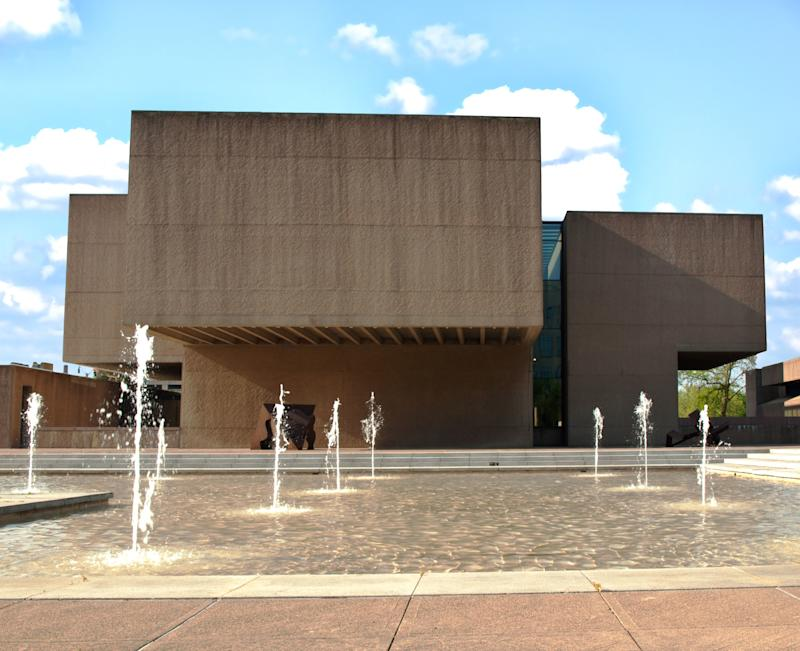 The I.M. Pei–designed Everson Museum in Syracuse, New York.