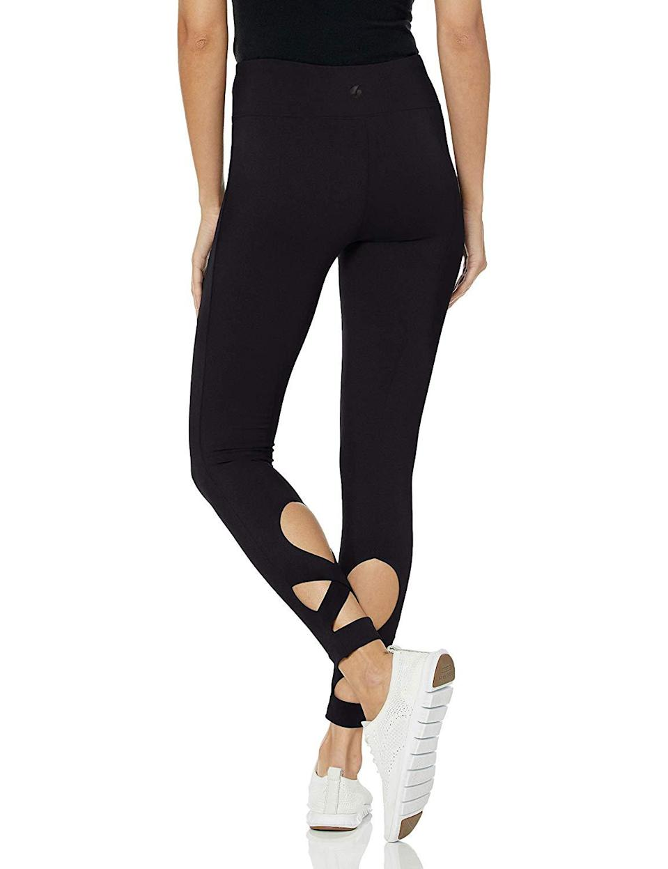 "<h3><a href=""https://www.amazon.com/Soffe-Womens-Legging-black-Medium/dp/B07NSLWSNL"" rel=""nofollow noopener"" target=""_blank"" data-ylk=""slk:Wrap Legging"" class=""link rapid-noclick-resp"">Wrap Legging</a> </h3><br><br>no reviews available<br><br><strong>Soffe</strong> Wrap Legging, $, available at <a href=""https://www.amazon.com/Soffe-Womens-Legging-black-Medium/dp/B07NSLWSNL"" rel=""nofollow noopener"" target=""_blank"" data-ylk=""slk:Amazon"" class=""link rapid-noclick-resp"">Amazon</a>"