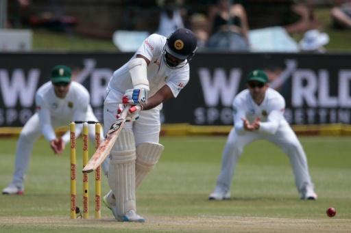 Sri Lanka make cautious start chasing 488 in first S. Africa Test