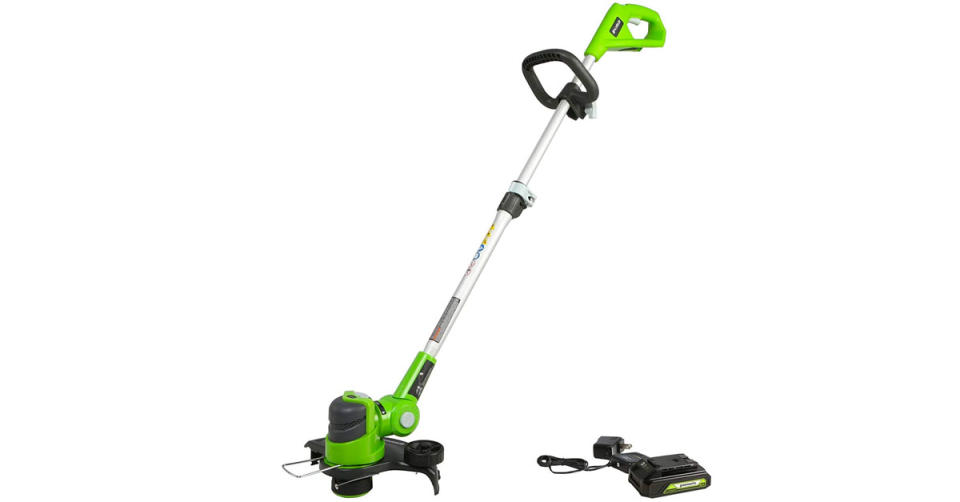 Greenworks 24V 12 inch String Trimmer is 30 percent off. (Photo: Amazon)
