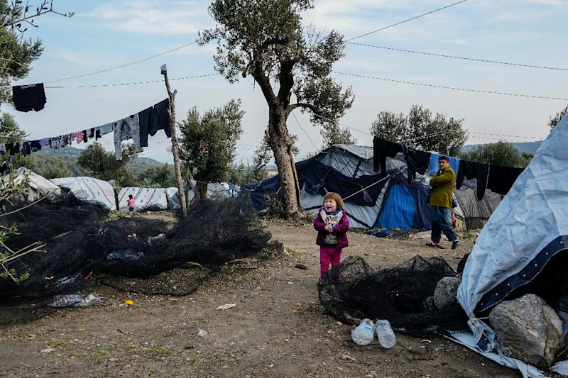 Greece responded to trenchant criticism in an Oxfam report by saying it was creating two new camps on the mainland
