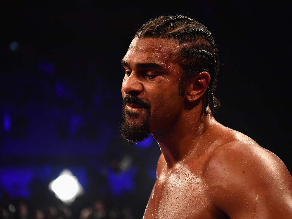 David Haye threatened to 'cave in' Tony Bellew's skull: Getty