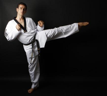 Turkish Taekwondo fighter and Olympic hopeful Bahri Tanrikulu, 32, poses for a picture in Ankara May 24, 2012. Tanrikulu is a three-time world champion and an Olympic silver medallist. Tanrikulu has his heart set on a gold medal at the London Olympics. He supplements his daily diet of 3000 kcal with ergogenic aids and multivitamins.