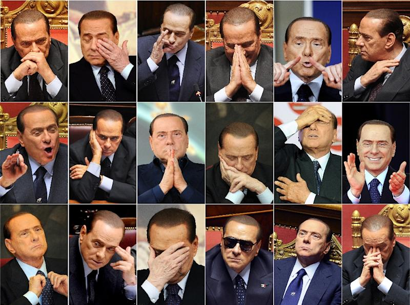 Berlusconi dominated Italian politics for two decades (AFP Photo/STAFF)