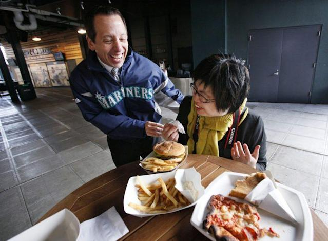 The Mariners are offering an unusual food item in 2017. (AP Photo)