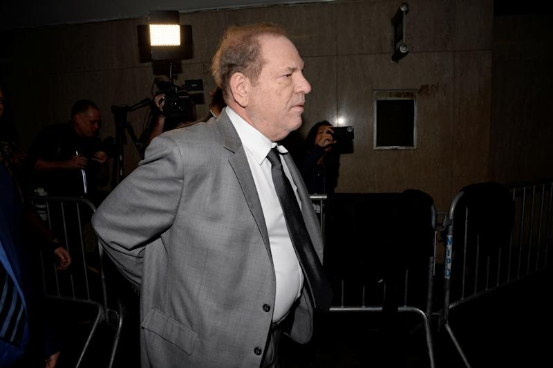 Film producer Harvey Weinstein arrives for a hearing in New York State Supreme Court in the Manhattan borough of New York, U.S., December 6, 2019. REUTERS/Jefferson Siegel