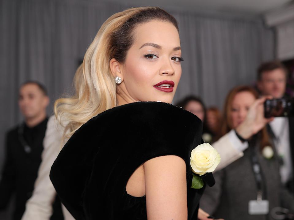Rita Ora has apologised for throwing a party during lockdown (Getty Images for NARAS)