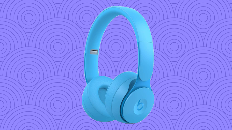Save 40 percent on these Beats Solo Pro Wireless Noise Cancelling On-Ear Headphones. (Photo: Amazon)