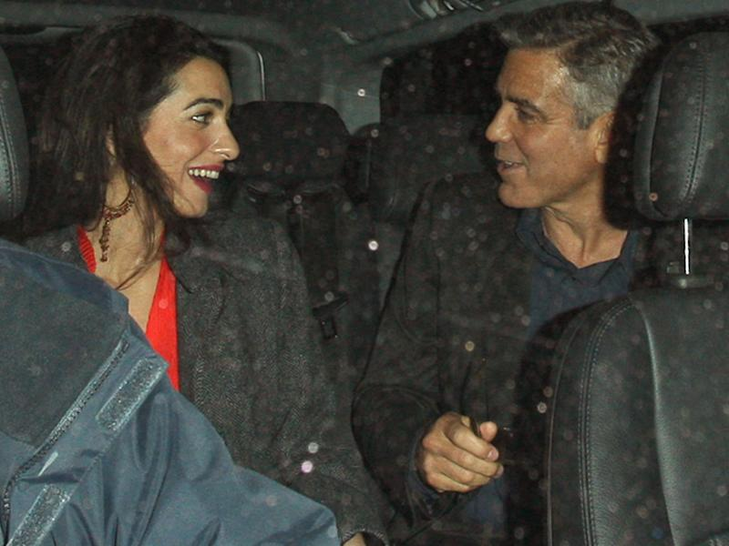 Clooney's 'wedding will include Brad and Jen'