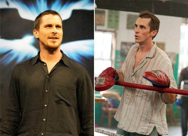 People were shocked when they saw a painfully thin Christian Bale in the movie 'The Machinist'. Bale reduced his weight by 63 lbs by surviving only on coffee and apples for months. Years later, Bale once again went through a similar painful ordeal to play Dicky Eklund in 'The Fighter'.