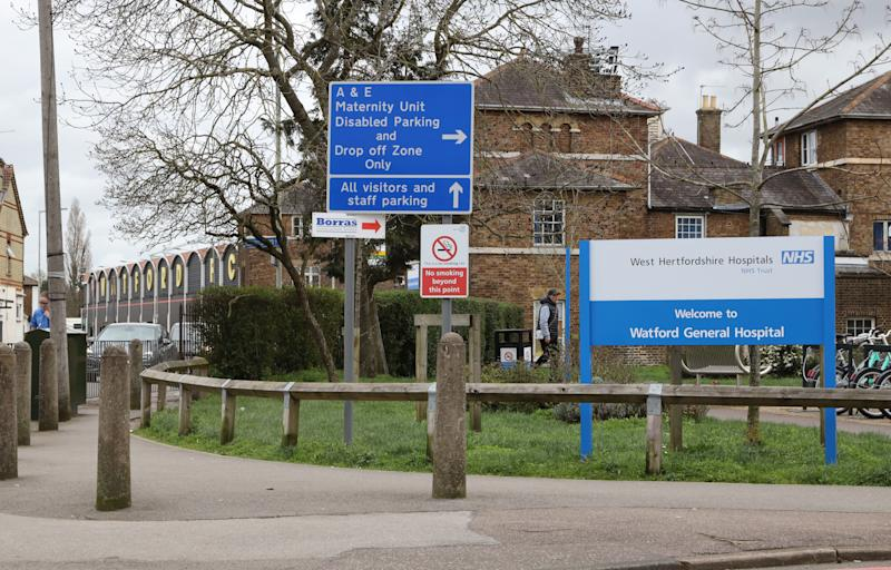 The hospital was temporarily closed on Saturday. (Photo: Richard Heathcote via Getty Images)