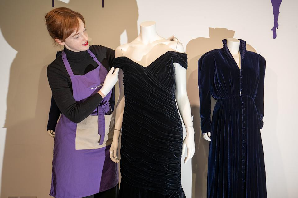 Kerry Taylor has sold over 20 of Princess Diana's dresses. [Photo: SWNS]