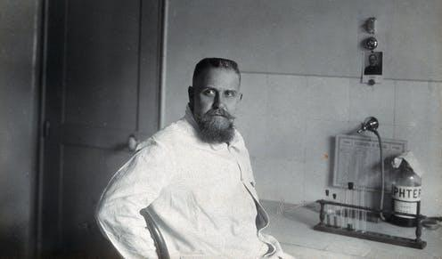 """<span class=""""caption"""">Gaston Ramon, a French vet, discovered vaccine adjuvants.</span> <span class=""""attribution""""><a class=""""link rapid-noclick-resp"""" href=""""https://wellcomecollection.org/works/s9bcf6t7"""" rel=""""nofollow noopener"""" target=""""_blank"""" data-ylk=""""slk:Wellcome Collection/Wikimedia Commons"""">Wellcome Collection/Wikimedia Commons</a>, <a class=""""link rapid-noclick-resp"""" href=""""http://creativecommons.org/licenses/by-sa/4.0/"""" rel=""""nofollow noopener"""" target=""""_blank"""" data-ylk=""""slk:CC BY-SA"""">CC BY-SA</a></span>"""