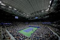 Room for a view: The Arthur Ashe Stadium at the US Open