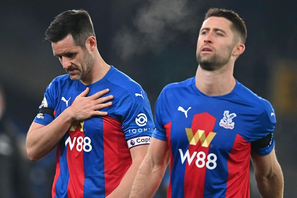 <p>The Eagles struggled again without their talisman as Newcastle netted two late goals</p>Getty Images
