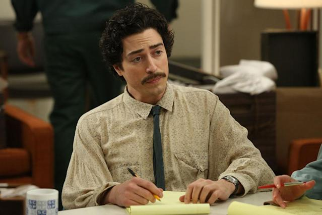 "Michael Ginsberg (Ben Feldman) in the ""Mad Men"" episode, ""Man With a Plan."""
