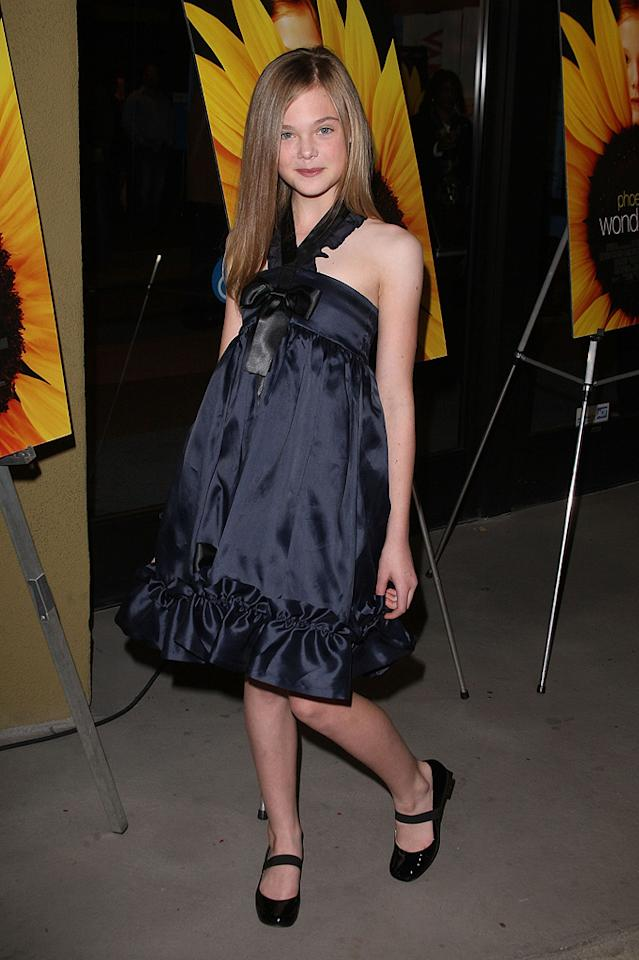 """<a href=""""http://movies.yahoo.com/movie/contributor/1808461888"""">Elle Fanning</a> at the Los Angeles premiere of <a href=""""http://movies.yahoo.com/movie/1809912209/info"""">Phoebe in Wonderland</a> - 03/01/2009"""
