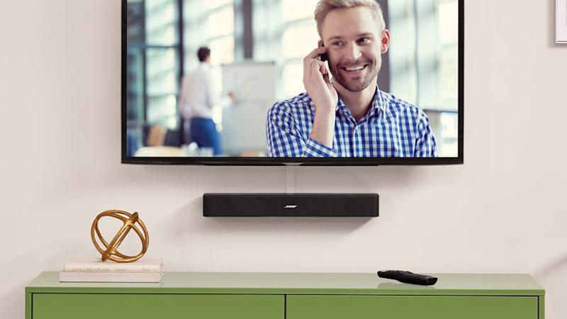 These slim devices take up practically no space and deliver major sound. (Photo: QVC)