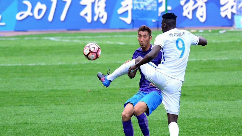 Michael Olunga suffers another defeat in Chinese league