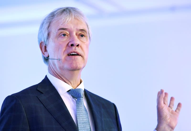FILE PHOTO: ASML CEO Peter Wennink attends a news conference after fourth quarter earnings in Veldhoven