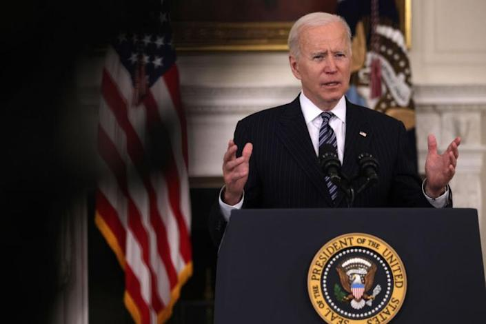 US President Joe Biden will announce his first limited actions on gun control on Thursday