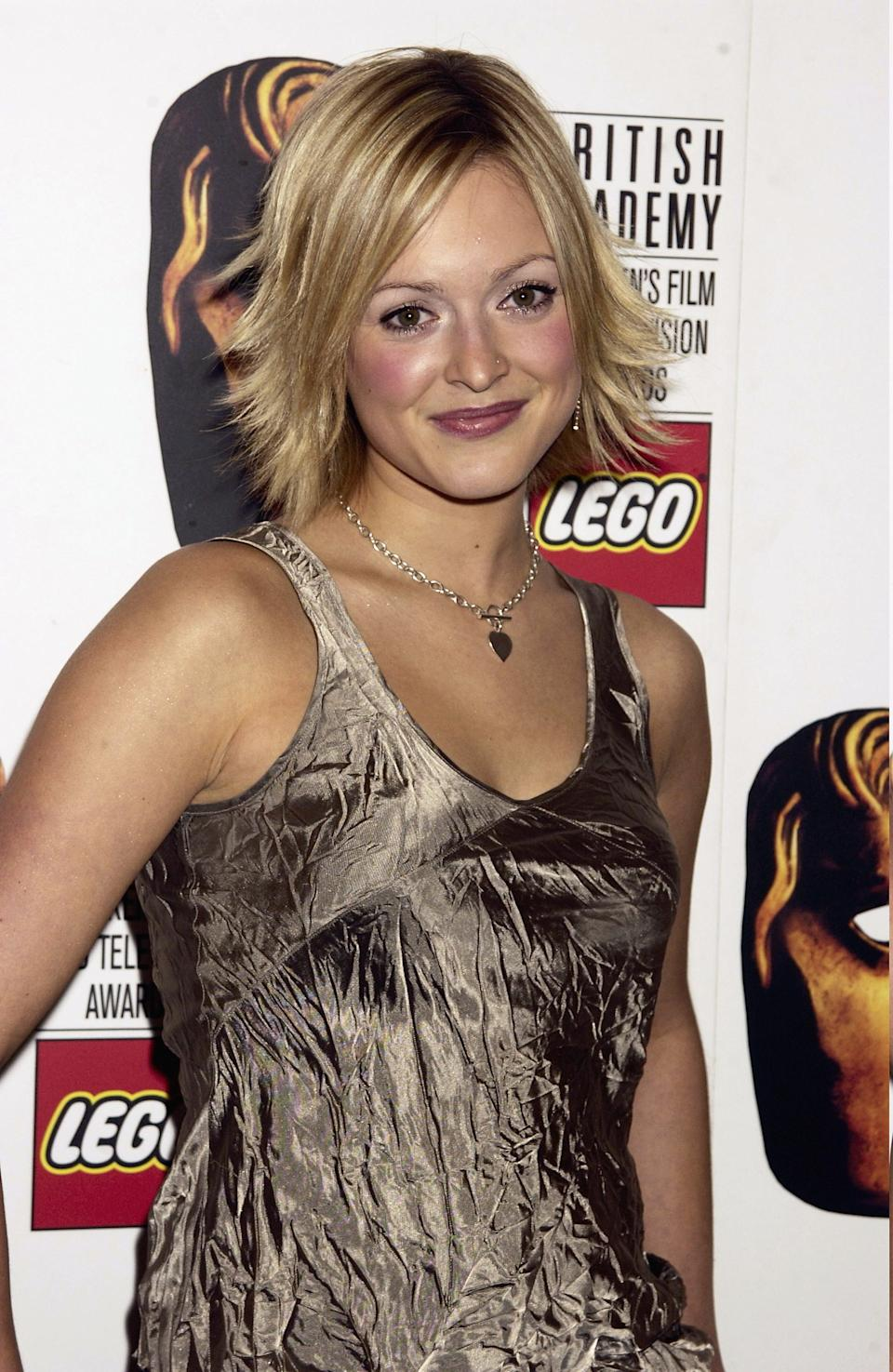 Fearne Cotton poses in the press room at The BAFTA Childrens Awards 2002 sponsored by Lego on November 24th, 2002 at the Hilton Hotel in London. (Photo by Dave Bennett/Getty Images)